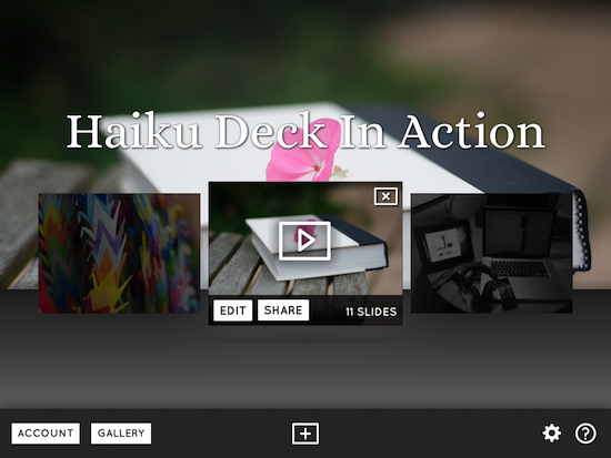 HaikuDeck - It's what your students' iPads are missing. | Winthrop Australia - Professional Development