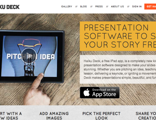 HaikuDeck – It's what your students' iPads are missing.